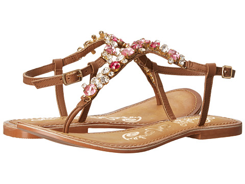 Naughty Monkey - Bling Blang (Tan) Women's Sandals