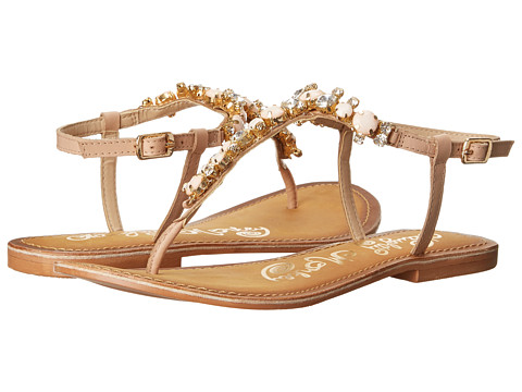 Naughty Monkey - Bling Blang (Nude) Women's Sandals
