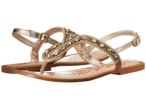 Naughty Monkey - Festival Fairy (Gold) Women's Sandals