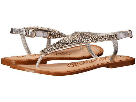 Naughty Monkey - Tina Tiara (Silver) Women's Sandals