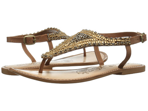 Naughty Monkey - Tina Tiara (Tan) Women's Sandals