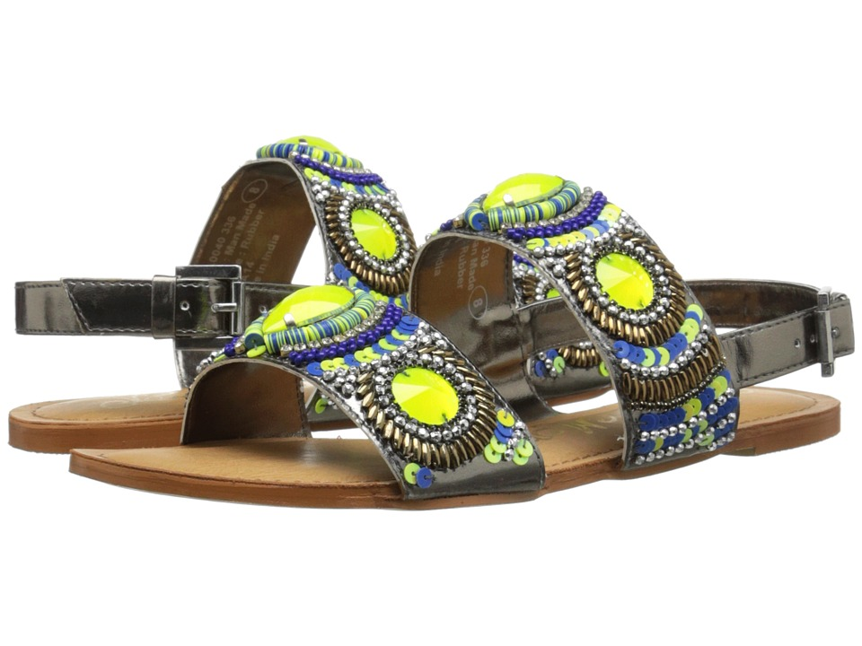 Naughty Monkey - Bubble Pop (Lime) Women's Sandals