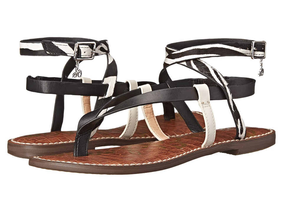Sam Edelman - Garrick (Black/Modern Ivory/Black/White) Women's Sandals