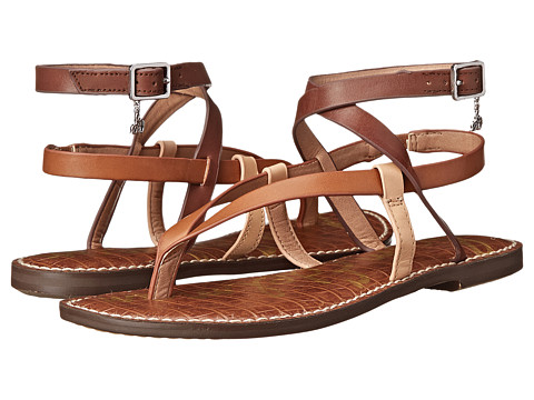 Sam Edelman - Garrick (Saddle/Natural Naked/Dark Sienna) Women's Sandals