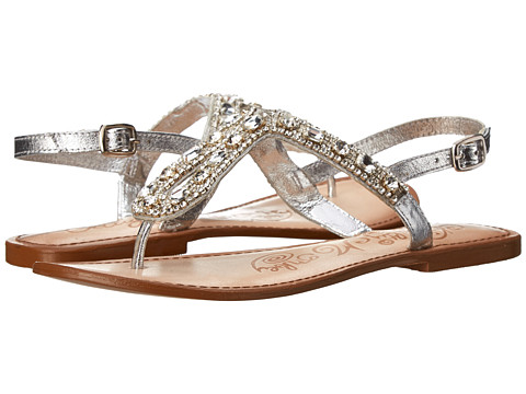 Naughty Monkey - Ring Teaser (Silver) Women's Sandals