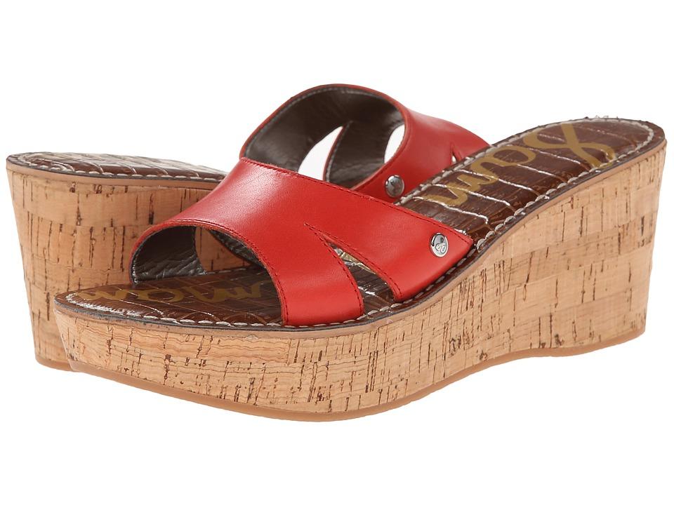 Sam Edelman - Reid (Vreeland Red) Women's Wedge Shoes