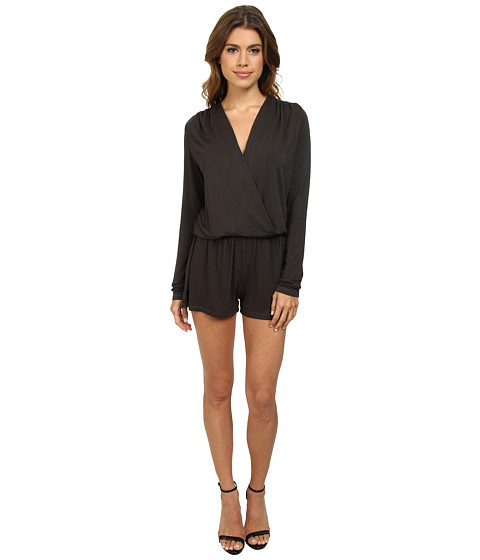 Young Fabulous & Broke - Howell Romper (Olive) Women's Jumpsuit & Rompers One Piece