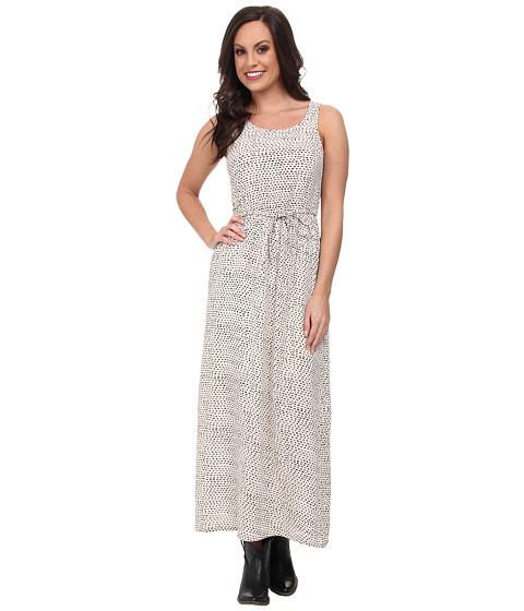 Lucky Brand - Polka Dot Dress (Natural Multi) Women
