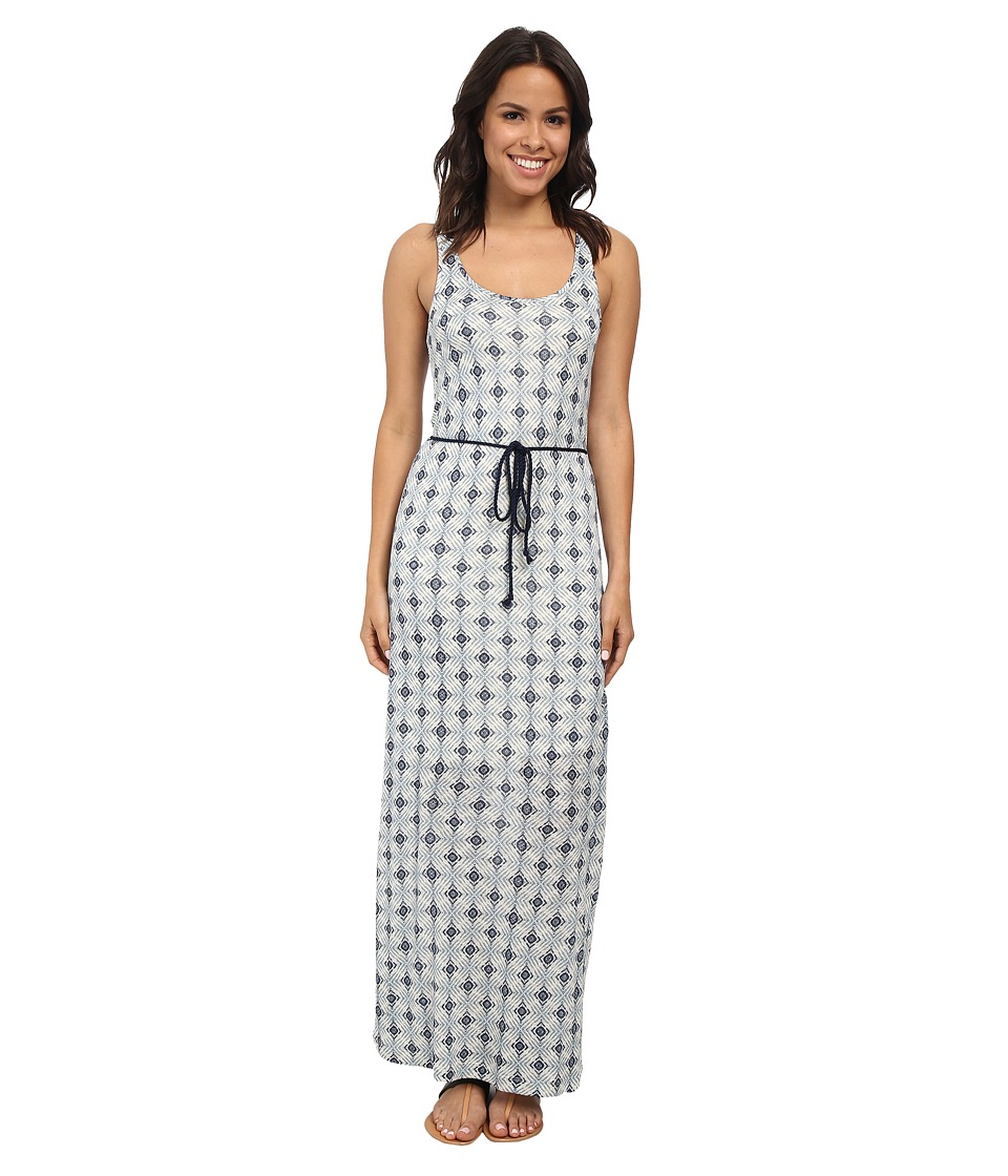 Lucky Brand - Maxi Dress (Blue Multi) Women's Dress