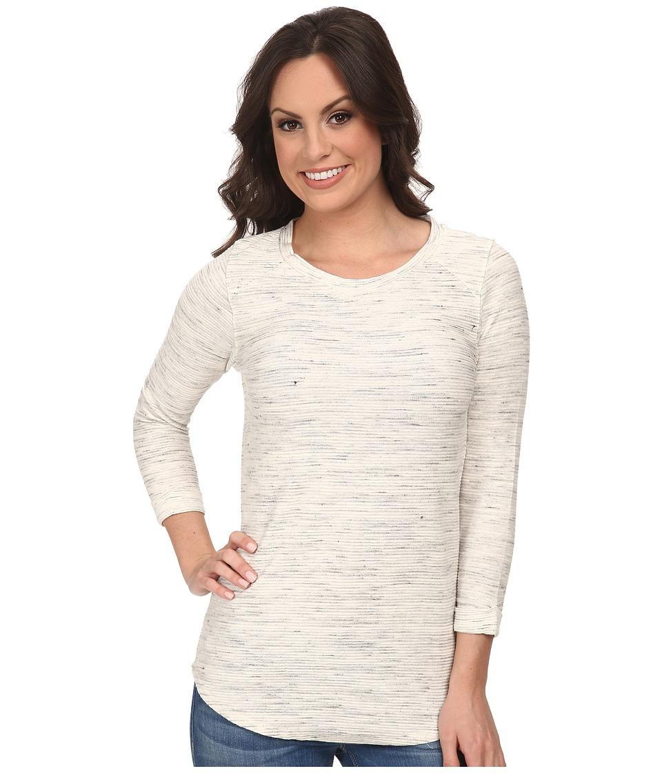 Lucky Brand - Textured Active Tunic (Light Grey) Women