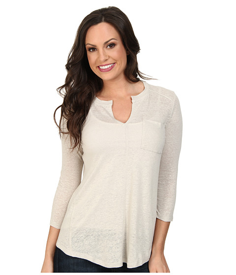 Lucky Brand - Pocket Tunic (#0013 Silver Cloud) Women