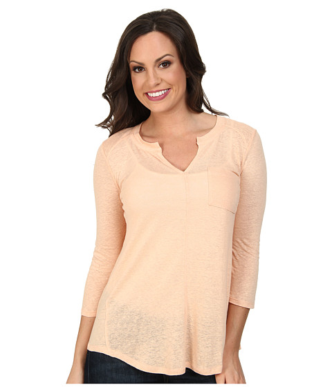 Lucky Brand - Pocket Tunic (#6735 Pink Sand) Women's Blouse