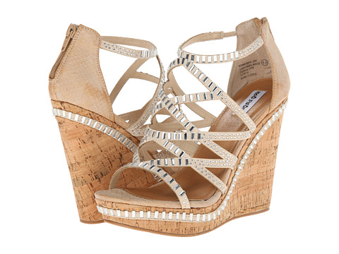 Not Rated - Blue Sea (Cream) Women's Wedge Shoes