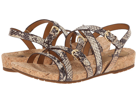 Sofft - Maura (Tan Snake Print) Women's Sandals
