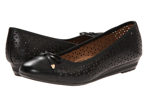 Sofft - Selima II (Black Lucky Calf) Women's Slip on Shoes