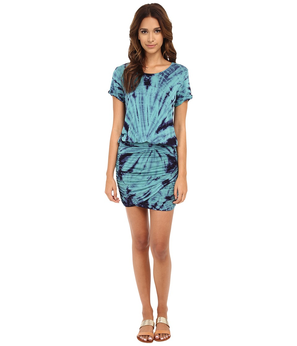 Young Fabulous & Broke - Elise Dress (Teal Dreamer Wash) Women's Dress