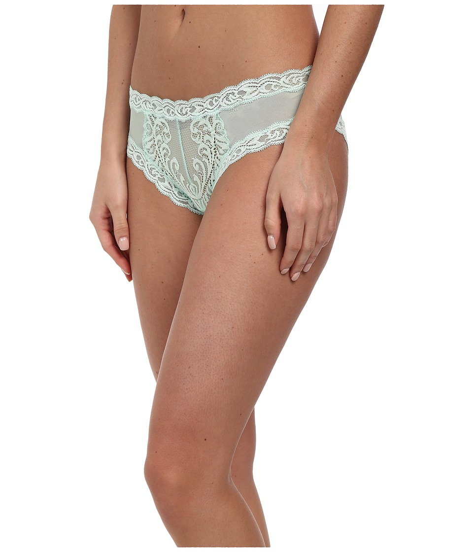 Natori - Feathers Hipster (Fresh Mint) Women's Underwear