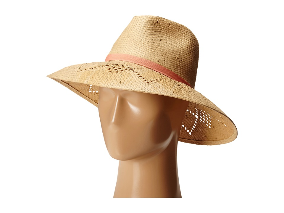 Vince Camuto - Open Weave Floppy (Tan) Caps