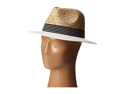 Vince Camuto - Nautical Panama (White) Caps
