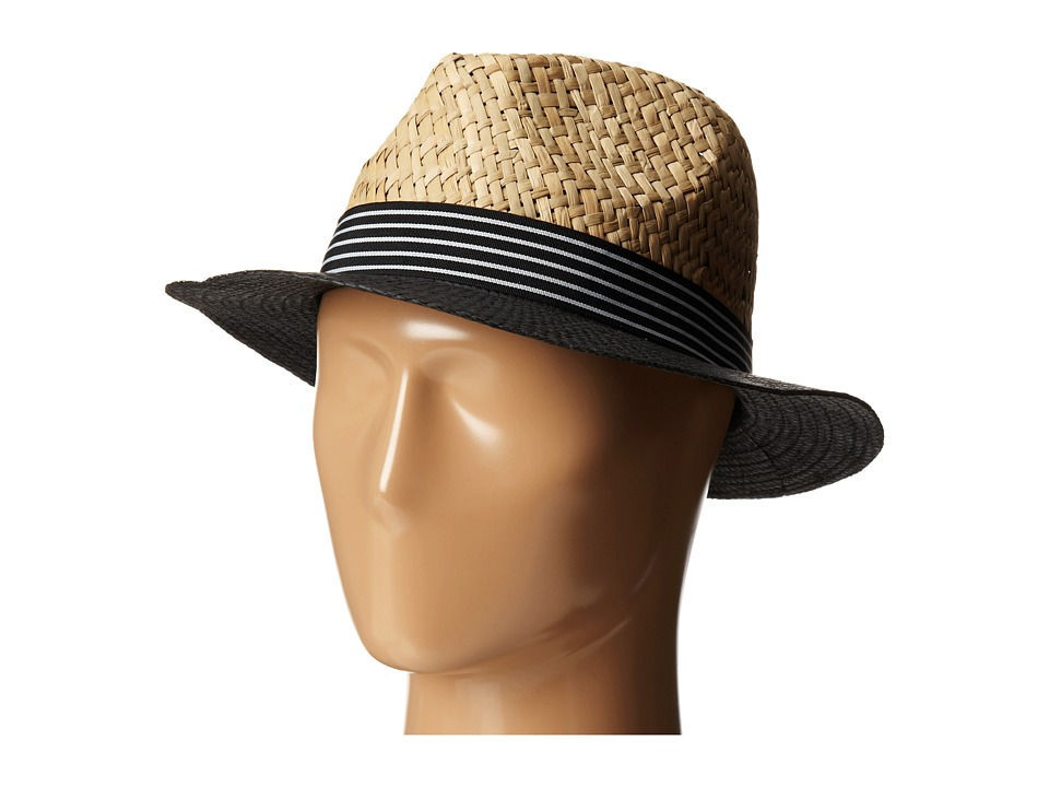 Vince Camuto - Nautical Panama (Black) Caps