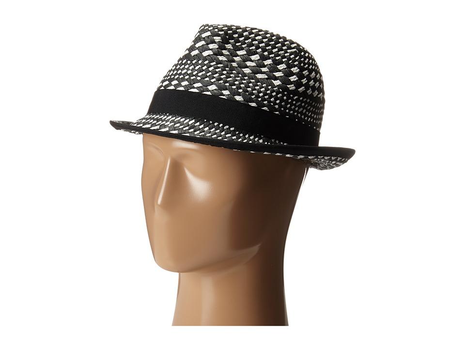 Vince Camuto - Textured Fedora (White) Fedora Hats