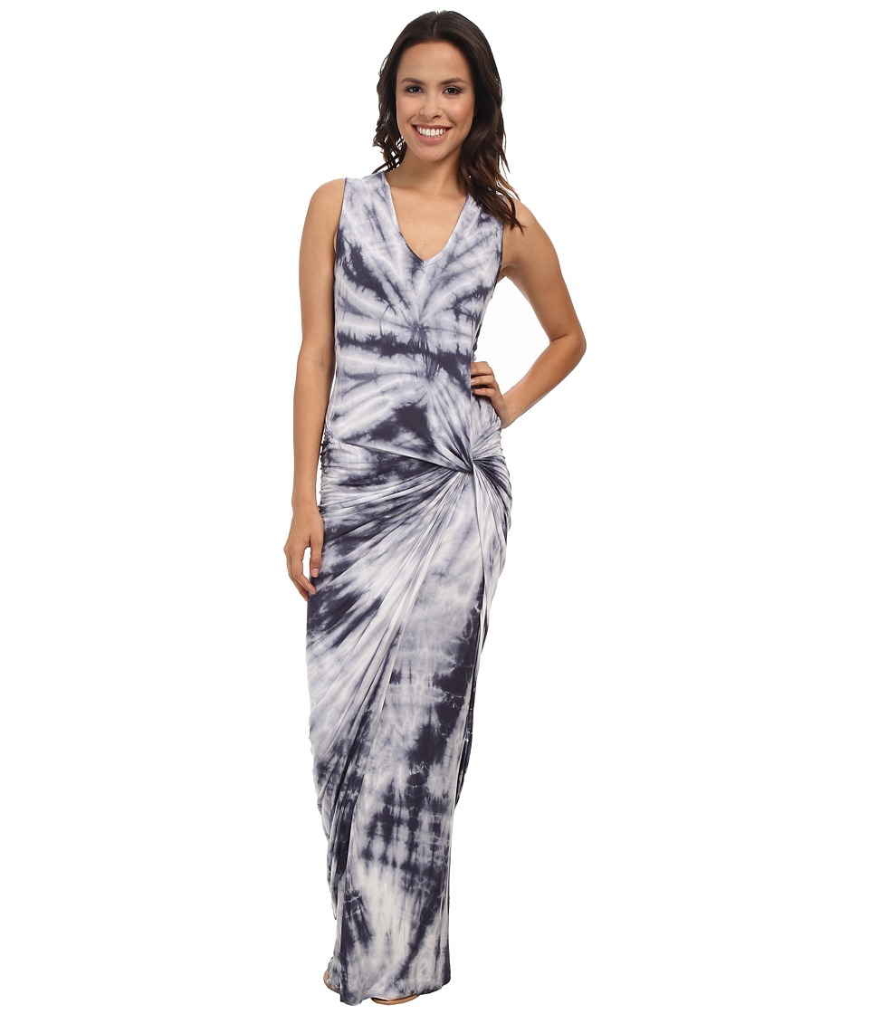 Young Fabulous & Broke - Maelle Maxi (Grey Dreamer Wash) Women's Dress