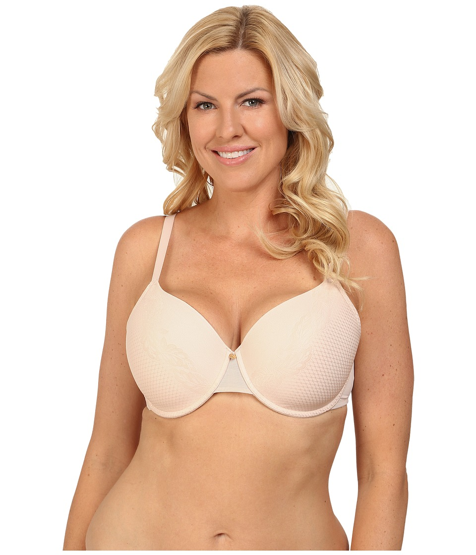 Natori - Smooth Scroll Full Figure Contour Underwire Bra 736095 (Light Mocha/Cashmere) Women's Bra