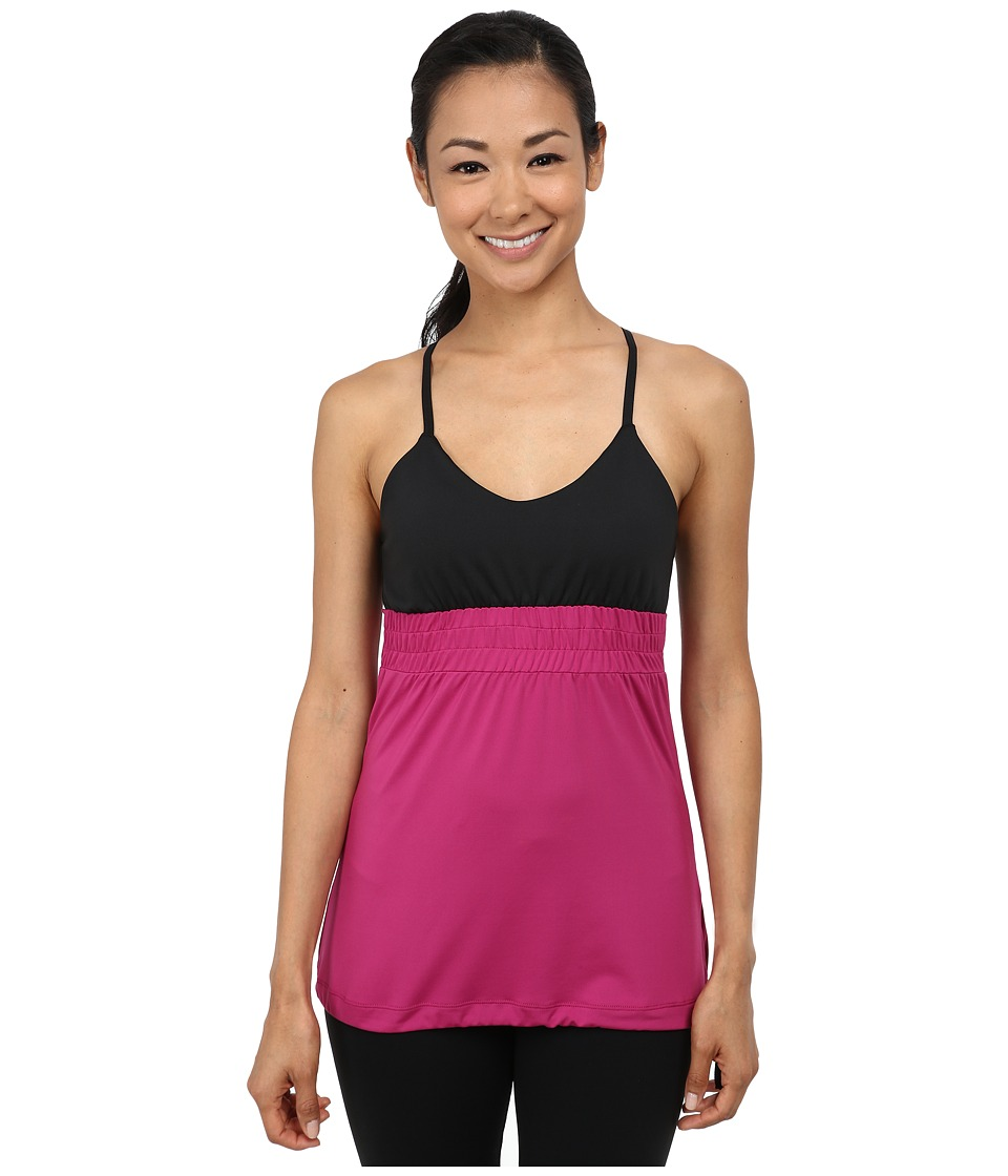 Skirt Sports - Vixen Tank (Razz/Black) Women's Sleeveless