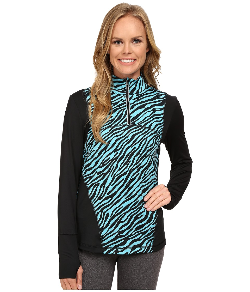 Skirt Sports - Lotta Love Top (Safari Print) Women's Long Sleeve Pullover