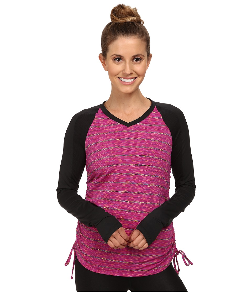Skirt Sports - Peek-A-Boo Long Sleeve Top (Buzzed) Women's Long Sleeve Pullover