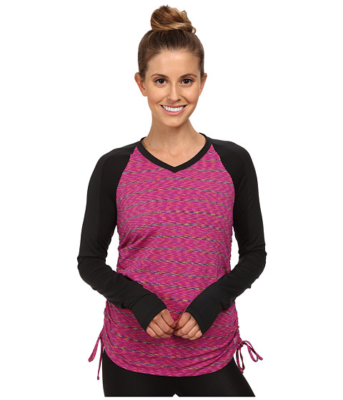 Skirt Sports - Peek-A-Boo Long Sleeve Top (Buzzed) Women