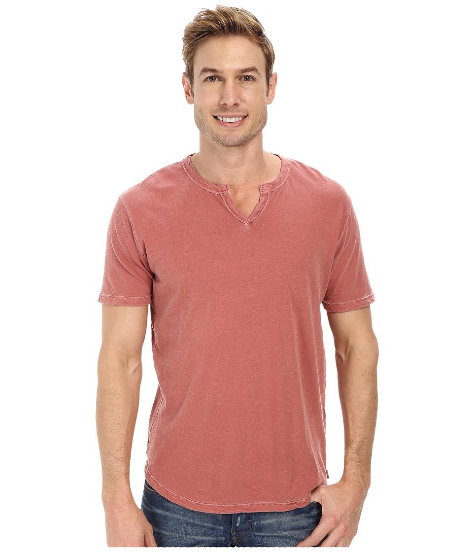 Lucky Brand - Slub Notch (Red) Men's Clothing