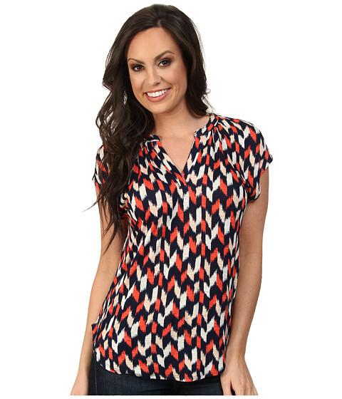 Lucky Brand - Mini Ikat Top (Multi) Women's Clothing