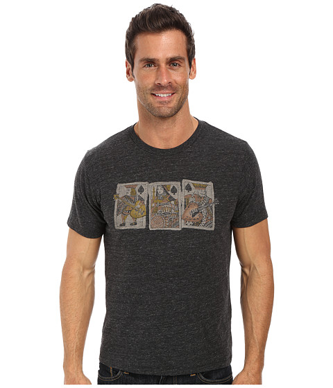 Lucky Brand - Royal Trio Tee (Onyx) Men