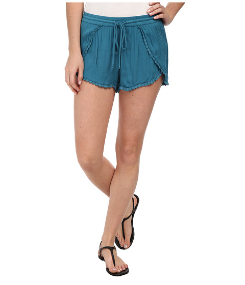 Young Fabulous & Broke - Kira Shorts (Teal) Women