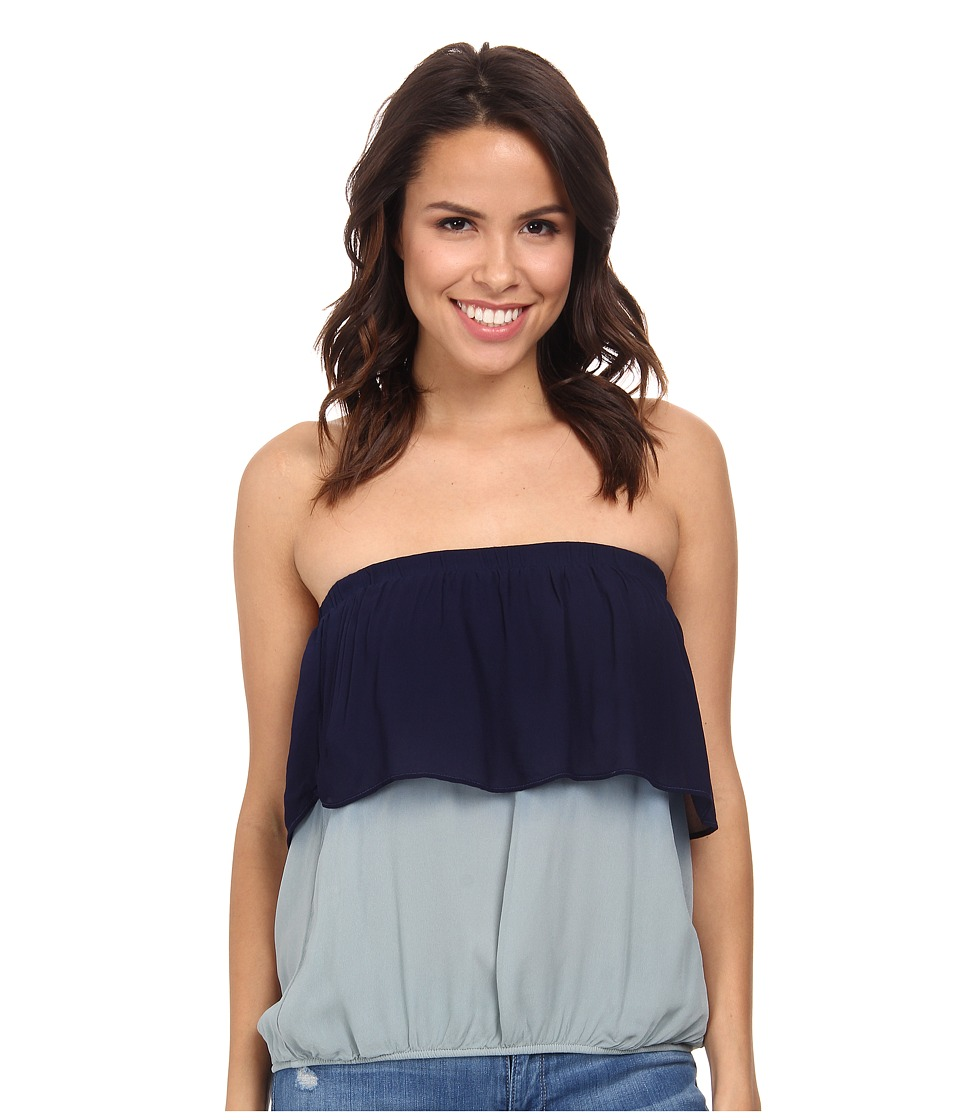 Young Fabulous & Broke - Oceanside Top (Blue Ombre) Women's Clothing