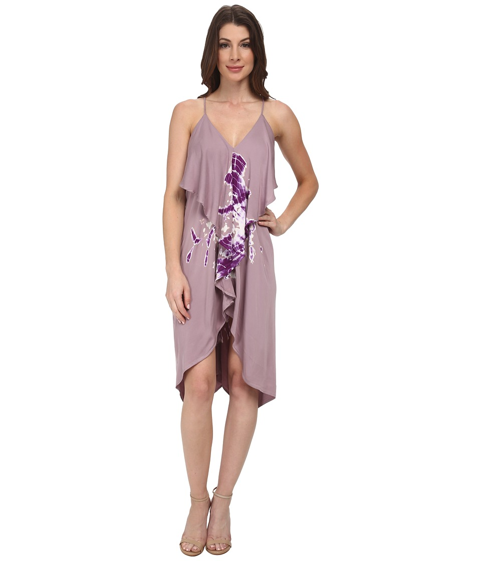 Young Fabulous & Broke - Lora Dress (Lilac Hurricane Wash) Women