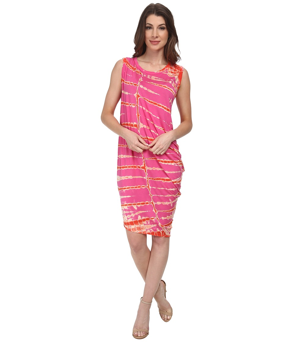 Young Fabulous & Broke - Jana Dress (Pink Tiger Wash) Women's Dress