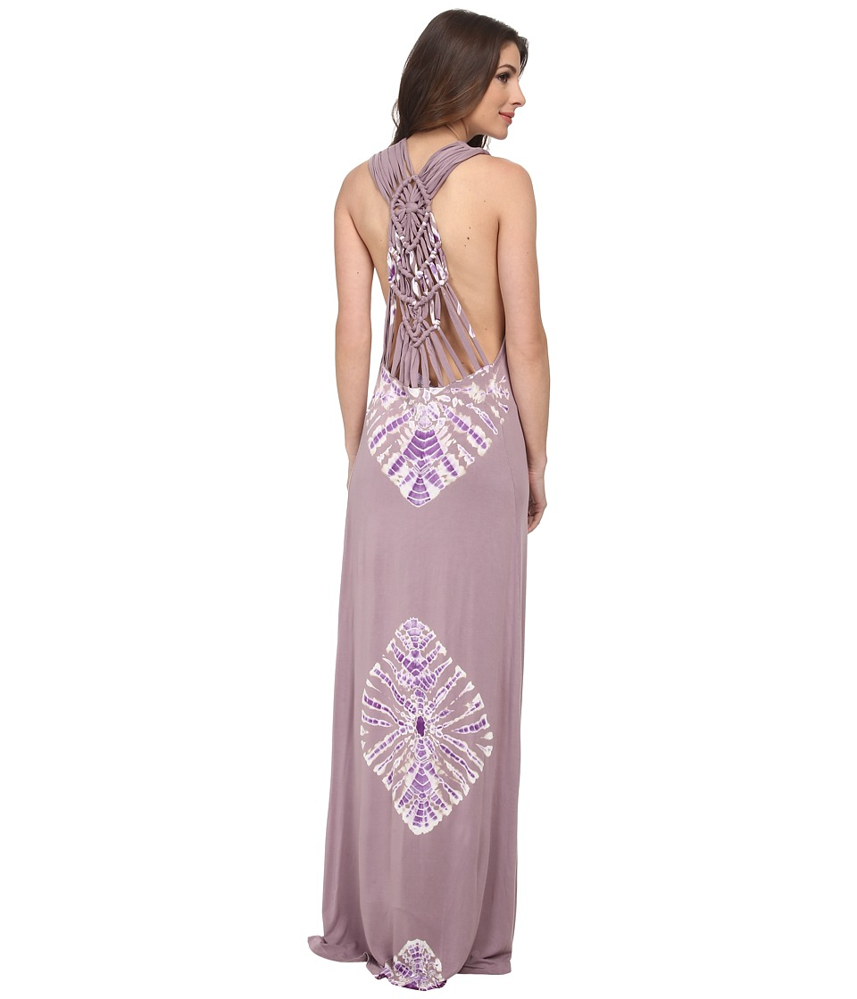 Young Fabulous & Broke - Sweet Maxi (Lilac Hurricane Wash) Women's Dress