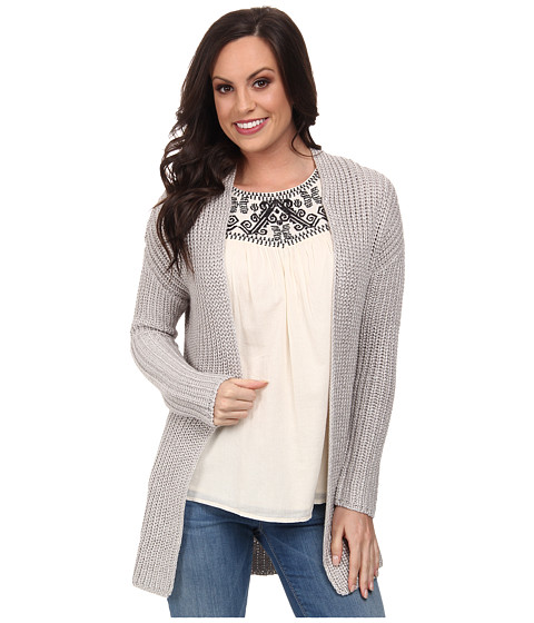Lucky Brand - Platinum Sweater (042 Platinum) Women's Sweater