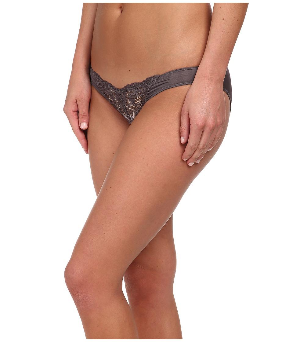 Natori - Blossom Bikini (Gunmetal/Morning Mist) Women's Underwear
