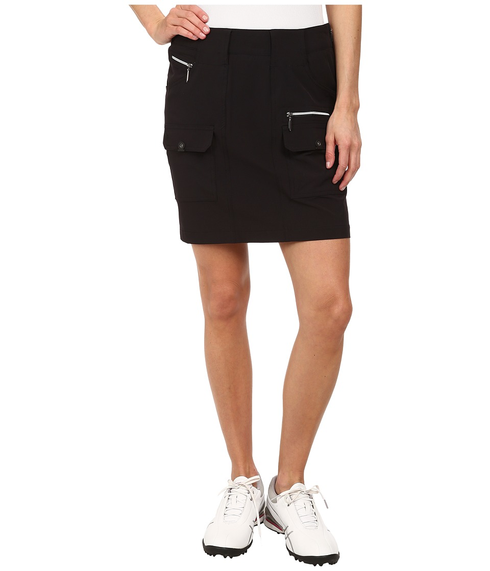 Jamie Sadock - Airwear Light Weight 18 in. Skort (Jet Black) Women's Skort