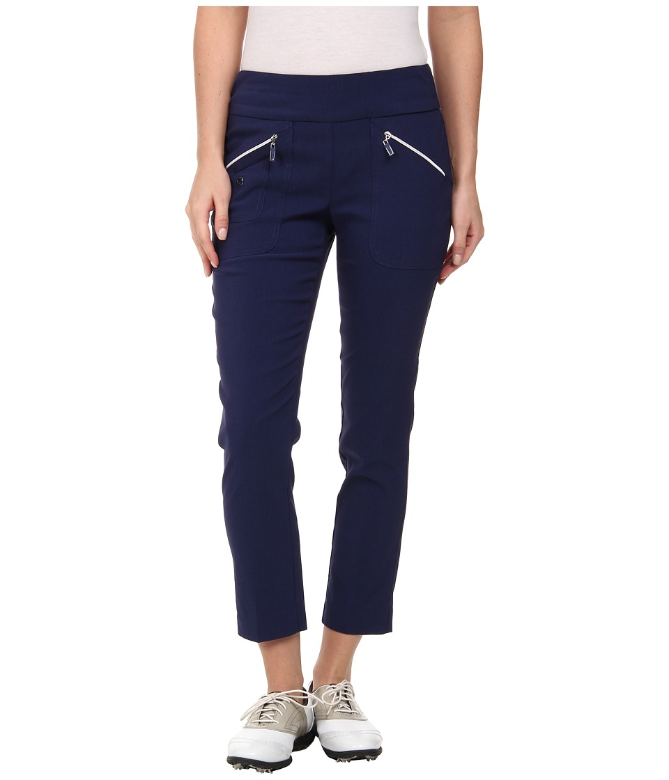 Jamie Sadock - Skinnylicious 35.5 in. Ankle Pant (Nocturnal Navy Blue) Women's Casual Pants