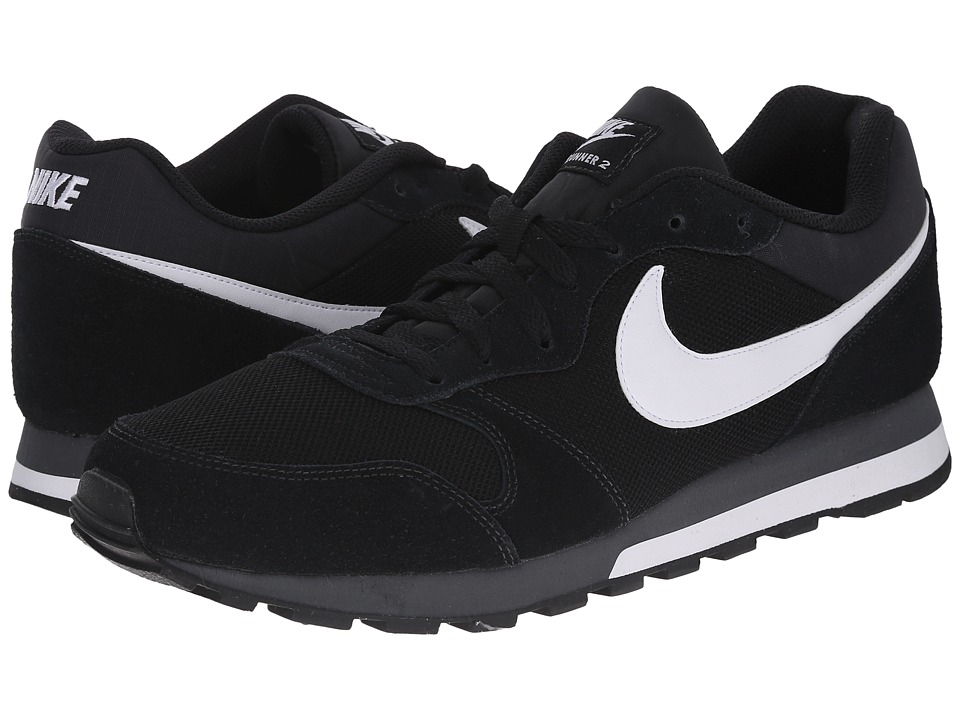 Nike - MD Runner 2 (Black/Anthracite/White) Men's Classic Shoes