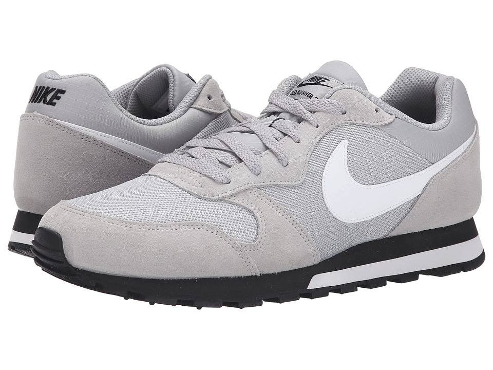 Nike - MD Runner 2 (Wolf Grey/Black/White) Men's Classic Shoes