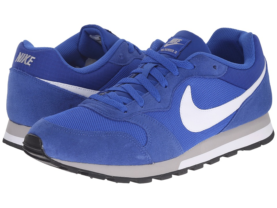 Nike - MD Runner 2 (Game Royal/Wolf Grey/White/White) Men