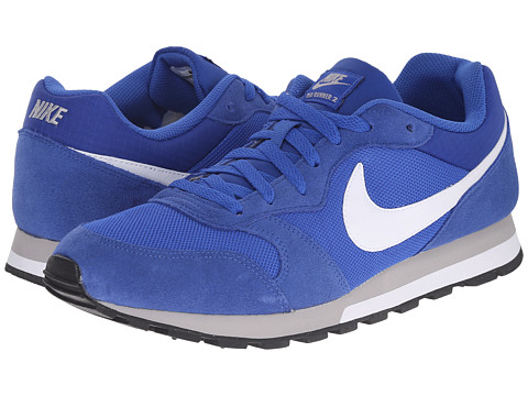 Nike - MD Runner 2 (Game Royal/Wolf Grey/White/White) Men's Classic Shoes