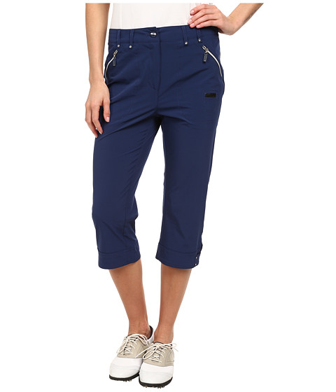 Jamie Sadock - Airwear Light Weight 28.5 in. Pedal Pusher (Nocturnal Navy Blue) Women's Capri