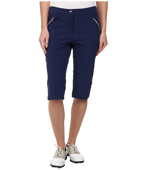 Jamie Sadock - Airwear Light Weight 24 in. Knee Capri (Nocturnal Navy Blue) Women's Capri