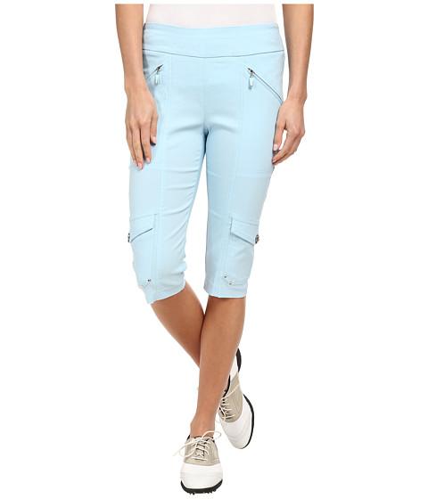 Jamie Sadock - Skinnylicious 24 in. Knee Capri (Paridiso Light Blue) Women's Capri